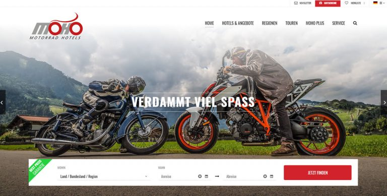 MoHo – Motorradhotels