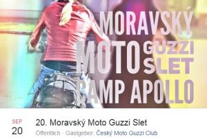 CZ - 20. Moravský Moto Guzzi Slet / LEDNICE