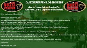 AT - 10. LOSENSTEINER Moto Guzzi Treffen