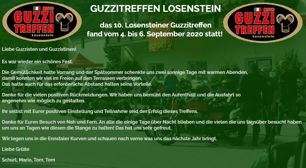 AT – 10. LOSENSTEINER Moto Guzzi Treffen