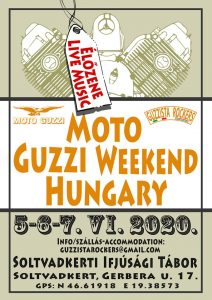 HU - ABGESAGT / CANCELD    UNGARN - Moto Guzzi Treffen Ungarn 2020