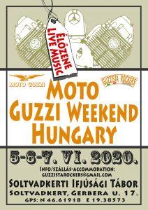 HU - UNGARN - Moto Guzzi Treffen Ungarn 2020