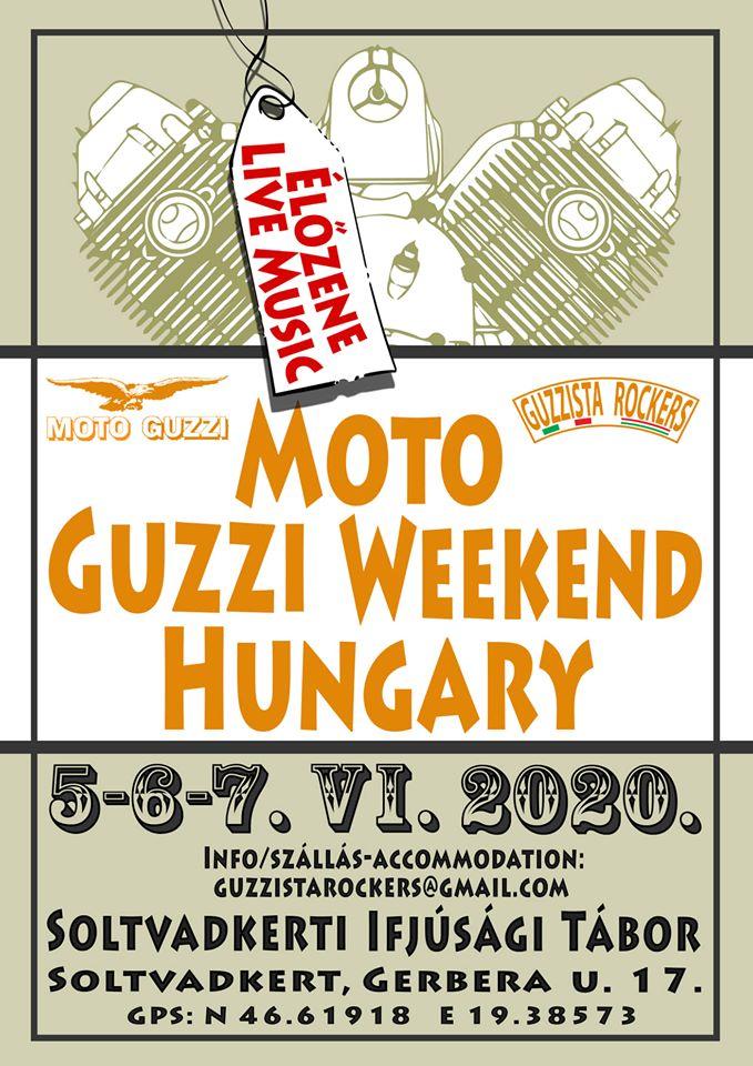 HU – UNGARN – Moto Guzzi Treffen Ungarn 2020